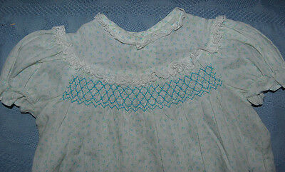 VINTAGE TODDLER INFANT GIRL'S DRESS 50's?  free shipping LARGE DOLL