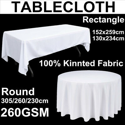 Tablecloth Round Rectangle Table Cloth Trestle Round Table Wedding Banquet