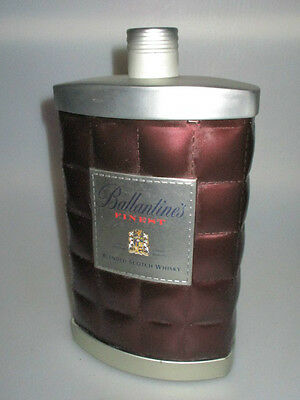 Ballantines Finest Scotch Whiskey 700 Ml Tin Flask Container ,no Alcohol