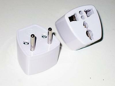 New Universal US UK AU JP to EU KR Power Plug Travel Charger Converter Adapter