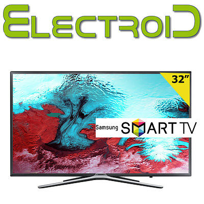 "SMART TV LED 32"" POLLICI SAMSUNG UE32K5500AW FULL HD DVB-T Wi-Fi INTEGRATO 24H*"