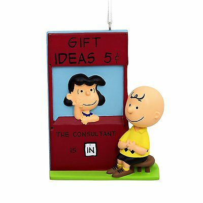 Peanuts Charlie Brown Lucy . Consultant is IN . EASTER Gift Hallmark . NEW