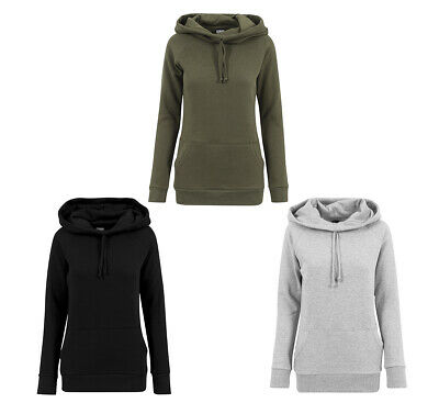 Urban Classics Ladies High Neck Raglan Hoody Damen Hoodie