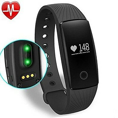 Fitness Tracker, Willful Activity Tracker Cardio HR Bluetooth Pedometro Cardiof