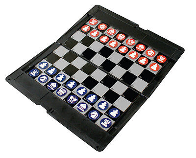 New Magnetic Folding Travel Chess Set Board Game Car Journey Plane Holiday