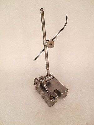 "Vintage Surface Gage Unmarked Great Quality 6"" Spindle"