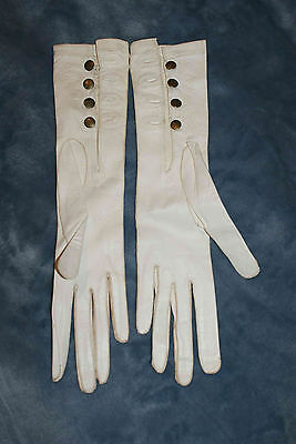 Antique lady's leather gloves