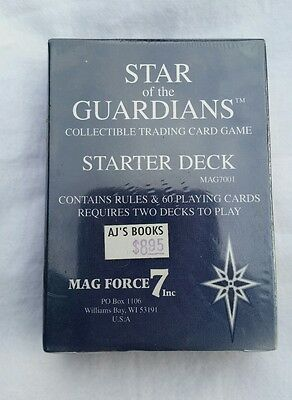 Star of the Guardians CCG Starter Deck - Factory Sealed