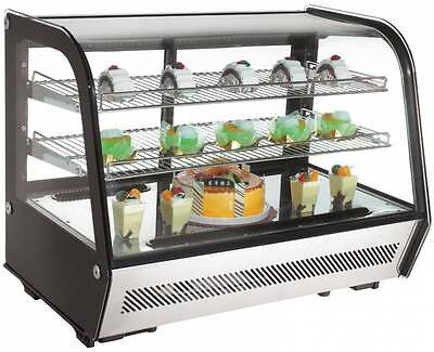 Countertop Glass Refrigerated Display Case 35""