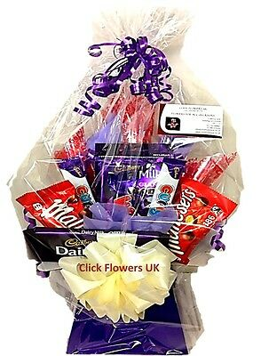 Chocolate Bouquet Delivered UK Tesers Choice Themed Selection - Free Delivery