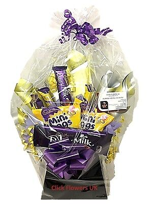 Chocolate Bouquet Delivered Min Egg Choice Themed Selection - Free Delivery