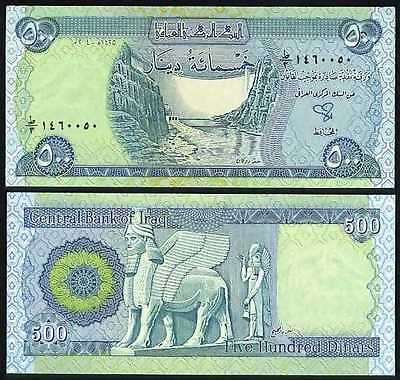 New Iraqi Dinar Circulated 50 pieces of the 500 Iraq Banknotes!!! (IQD)