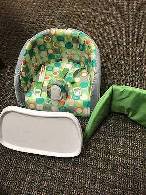Boppy Seat Booster Cushioned High Chair with Tray