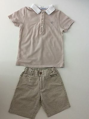 Tutto Piccolo Boys Outfit Set Shorts And Top Age 4 Years