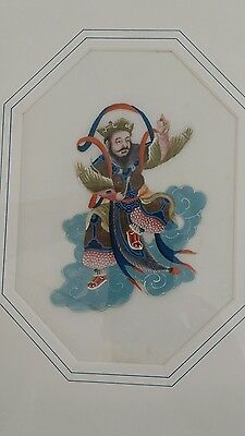 Antique Chinese Drawing on Rice paper