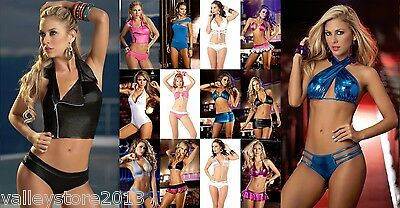 RX1 WHOLESALE LOT 50 Pieces LINGERIE EXOTIC BIKINI CLUB WEAR DANCER RAVE S M L