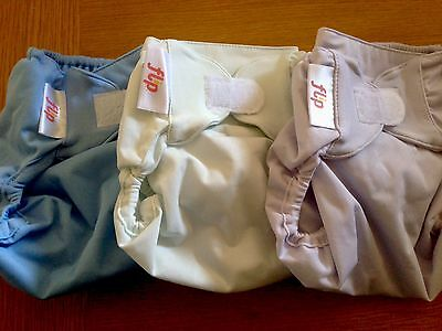 FLIP Cloth Diaper Cover SET Bumgenius made - One Size - NEW - DISCONTINUED