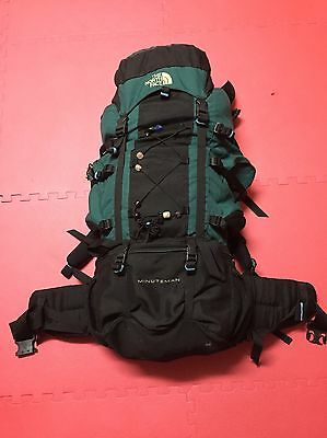 The North Face Minuteman 89L Internal Frame Hiking Rip Stop  Backpack Sz Large