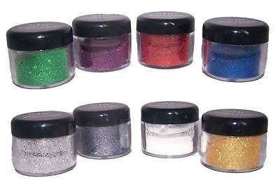 Sparkle Shine Loose Glitter Eyeshadow Body & Face 8 Colors 4 Pc Lots(CosGES114^)