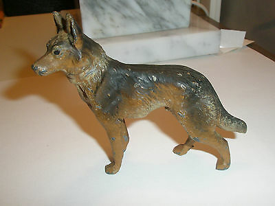 Germany Dog German Shepherd Metal Vintage