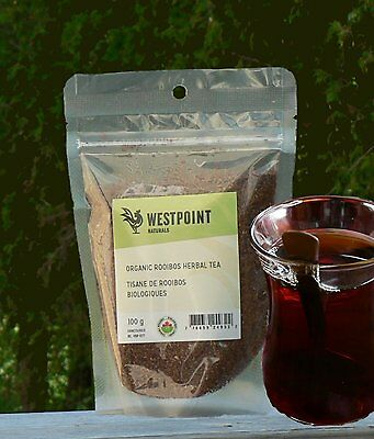 Westpoint Naturals Organic Rooibos Herbal Tea , Loose (100g)