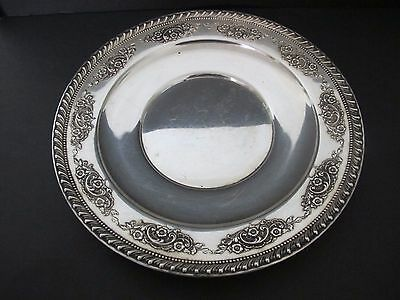 Gorgeous Very Large Wallace Rosepoint Sterling Silver Tray