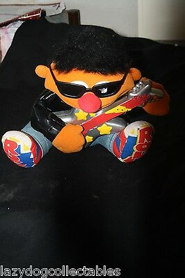 Sesame Street Cookie Monster and Bert Musical Rock and Roll Dolls