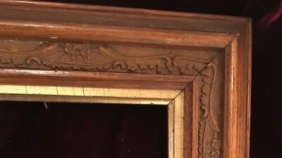 Antique Wooden  Frame with Intricate Design Early 20th Century 1900's