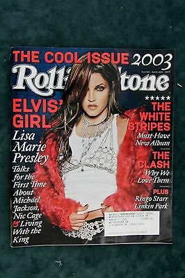 Rolling Stone Magazine - Lisa Marie Presley   #920     April 17, 2003  (A)