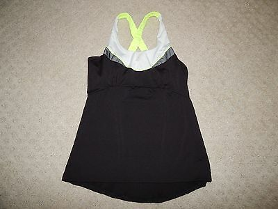 LUCKY IN LOVE Girls Tennis Top Racerback SIZE SMALL 4-6