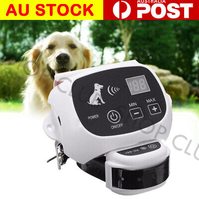 2 Wireless Electric Dog Fence 500M Pet Fencing Collar System Boundary Waterproof