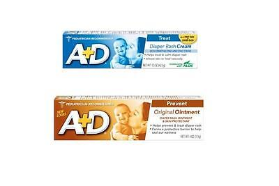 A&D Diaper Rash Skin Protectant Ointment Cream to Treat or Prevent