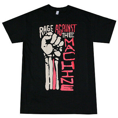 RATM RAGE AGAINST THE MACHINE Men's T- Shirt Black
