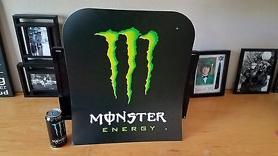 Monster Energy Sign large official Monster ® advertising display piece NICE RARE