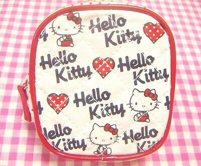 Sanrio Hello Kitty Vinyl Pouch / Japan Cute Bag 2009