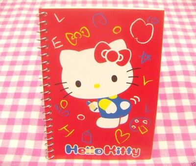 Sanrio Hello Kitty Ring Memo Notebook / Japan Stationery 2012