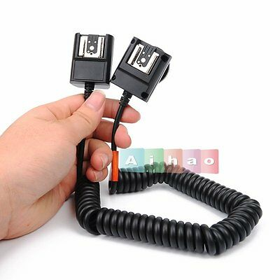 Godox TL-N 3M TTL Off-Camera Speedlite Hot Shoe Flash Sync Cable Cord For Nikon