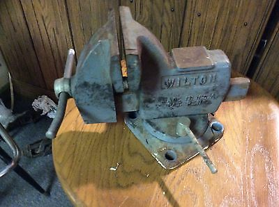 "Wilton Tilt Body Vise,4"" Jaw, Swivel Base,Gunsmith"