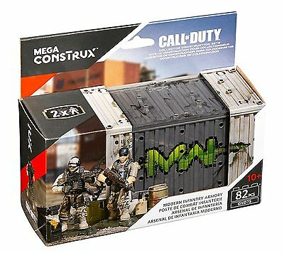 Mega Bloks Collectors Call of Duty Modern Infantry Armory von Mattel