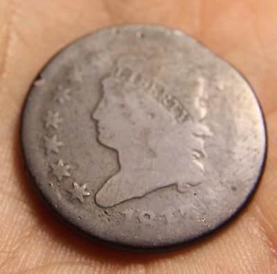 1813 Classic Head Large Cent, S-293