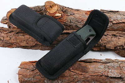"""New HQ Nylon Sheath For Outdoor Folding Knife Up to 4.72"""" Pouch Case Gift"""