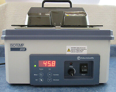 Fisher Scientific Isotemp 205 Digital Water Bath 15-462-5 - Tested 100% - Mint