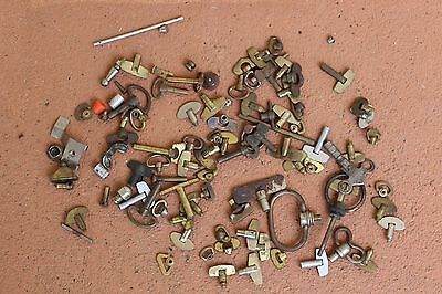 Antique Vintage Clock Watch Keys Lot 75 pieces