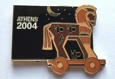 Olympic Pin Badge Athens 2004 Olympic Games Trojan Horse Greece