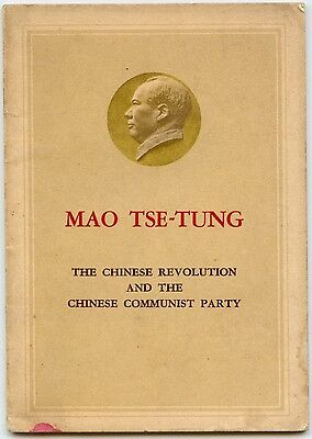 Chairman Mao, The Chinese Revolution and the Chinese Communist Party, 1960