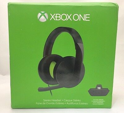 Microsoft Xbox One Stereo Headset with Adapter