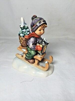 """Vintage Hummel No. 396 """"Ride Into Christmas"""" Mint Condition"""