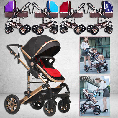8 in1 Newborn Travel Pram Foldable Baby Stroller With Bassinet Baby Pushchair