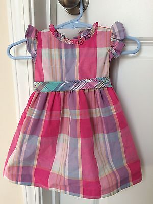 Baby Girl Clothes Dresses Easter Dress Chaps Size 6 Months Pink Blue Purple