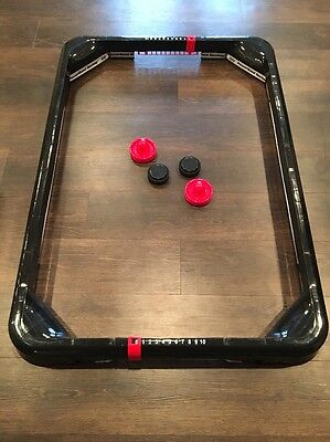 Face-Off Frenzy PowerBand Floor Hockey Game PLAY ON FLOOR OR CARPET Excellent
